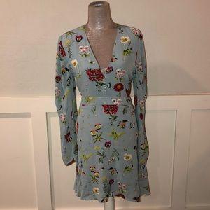 NWT Joie blue dress, size 12